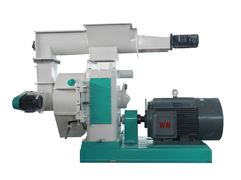 Biomass horizontal pellet machine